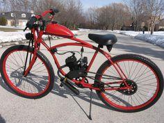 Custom Motored Bicycles