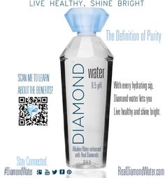 Asa's Diamond Water - The Definition of Purity Ad - See more digital production @ WidgetWare.com