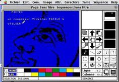 Pictex (1988), a videotex graphic editor by Serge Villa.