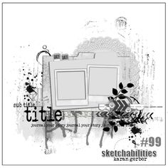 A Scrapbooking Swewi Scrapbook Layout Sketches, Scrapbook Templates, Scrapbook Designs, Card Sketches, Scrapbook Albums, Scrapbooking Layouts, Scrapbook Cards, Drawing Sketches, Digital Scrapbooking