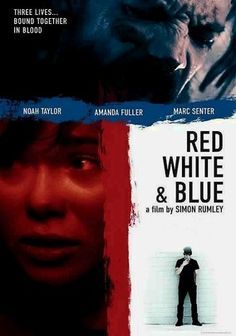 """#horrific  Red White & Blue (2010)  """"When aloof bed-hopper Erica (Amanda Fuller) takes a job at a hardware store in Austin, she crosses paths with Frankie (Marc Senter), a struggling musician, and Nate (Noah Taylor), a mysterious stranger with an ominous past. But their lives don't intersect in the way you might expect. British writer-director Simon Rumley steers this intense psychological revenge thriller that packs a surprising plot twist."""" #movies #films"""