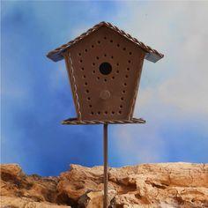 Mini Rustic Bird House