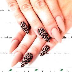 Nude Nails With Feline Accent #Nailart #love nails Nails Polish, Nude Nails, My Nails, Coffin Nails, Fall Nails, Fall Almond Nails, Almond Nail Art, Stiletto Nail Art, Fall Nail Art