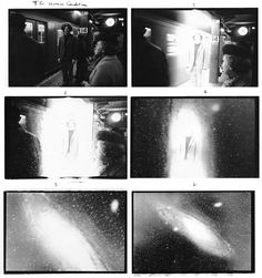 """""""The Human Condition"""" by Duane Michals, 6 gelatin silver prints with hand-applied text, 5 x 7 inches, edition 22/25, 1969. © Duane Michals."""