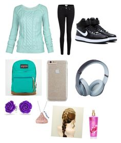 """""""Untitled #58"""" by lauren975 ❤ liked on Polyvore featuring Fat Face, Paige Denim, NIKE, JanSport, Case-Mate, Beats by Dr. Dre and Bling Jewelry"""