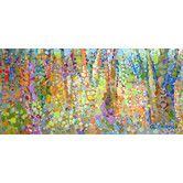 "AllModern - ""Abstract Wilderness"" by Angelo Franco Painting Print on Canvas by GreenBox Art"
