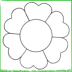 Nice Coloriage Fleurs A Imprimer that you must know, Youre in good company if you?re looking for Coloriage Fleurs A Imprimer Mosaic Patterns, Applique Patterns, Applique Designs, Flower Patterns, Toilet Roll Craft, Preschool Coloring Pages, Flower Template, Floral Illustrations, Diy Wall Art