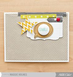 Smile Card by maggie holmes at Studio Calico