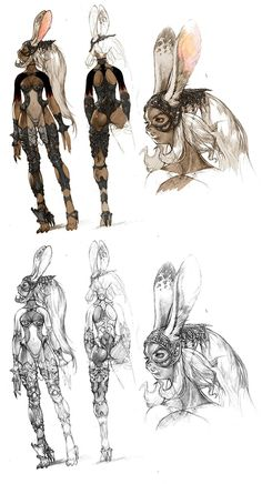 Discover recipes, home ideas, style inspiration and other ideas to try. Final Fantasy Xiv, Viera Final Fantasy, Gothic Fantasy Art, Final Fantasy Artwork, Final Fantasy Characters, Fantasy Concept Art, Fantasy Kunst, Game Concept Art, Fantasy Character Design