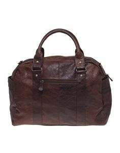 Image 1 of ASOS Leather Look Holdall
