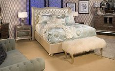 old hollywood Bedroom Decorating Ideas for Teens | hollywood-glam-bedrooms-hollywood+style+blam+chic+bedroom+decorating ...