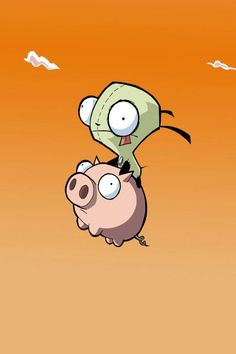 Gir and his piggy