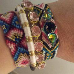 My friendship bracelets...