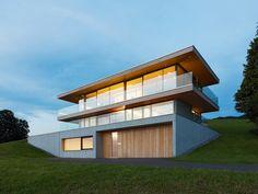 Dietrich | Untertrifaller Architekten - Haus SF, Dornbirn