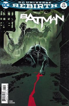 DC Universe Rebirth Batman comic issue 23 Limited variant