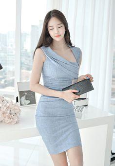 Luxe Asian Women Dresses Asian Size Clothing Luxury Asian Woman Fashion Style Fashion Style Clothing 韓国の服 韩国衣服 韓国スタイル 韩国风格,韓国ファッション, アジアンファッション korean fashion online