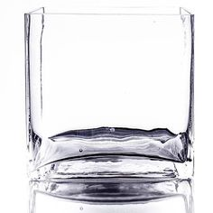 Generic 6 x 6 Square Glass Vase Unique Centerpieces, Table Centerpieces, Square Glass Vase, Candy Buffet Tables, Clear Glass, Party Supplies, Candle Holders, Candles, Wedding Ideas