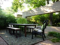 In Austin, a Backyard Wall Provides More Than Privacy | http://www.houzz.com/ideabooks/12117735/list?utm_source=Houzz_campaign=u325_medium=email_content=gallery3
