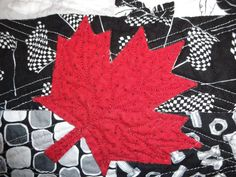 A couple of years ago, I asked my son what he would like in a quilt if I made one for him. After some thought, he said he'd like a quilt with a Quilting Board, Canada Day, Sons, It Is Finished, Kids Rugs, Quilts, Pictures, Art, Craft Art