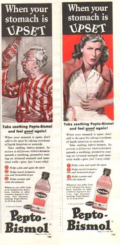 Pepto Bismol - When your Stomach is Upset - 1948