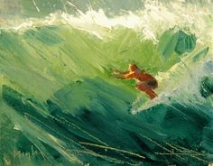 Kai Fine Art is an art website, shows painting and illustration works all over the world. Surfing Photos, Wave Art, Surf City, Impressionist Paintings, Art Studies, Figurative Art, Art World, Abstract Art, Beach Paintings