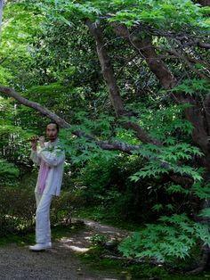 セレンディピティ・ユニ〜厭離庵庭園で横笛を奏でる|おじゃかんばん『フォトブラ☆散歩物語』