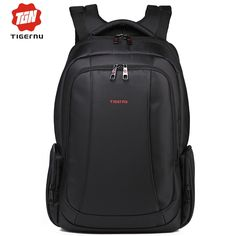 37.05$  Watch here - http://aliijj.shopchina.info/go.php?t=32359410270 - 2017 Tigernu Women Backpacks Mochilas Male Back Pack Black Waterproof Daily 15.6 Inch Laptop Backpack for Computer Notebook bag 37.05$ #SHOPPING