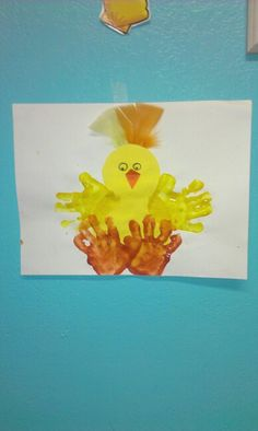 Easter craft w/ my infants & toddlers