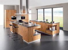 Holz in der Küche - [SCHÖNER WOHNEN]