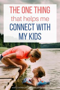 Being a better parent might be easier than you think. Here's my favorite way to connect with my kids and grow as their mom. Family Travel | Travel with Kids