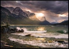 Forces of Nature by MarcAdamus.deviantart.com on @DeviantArt (Glacier National Park, Montana)