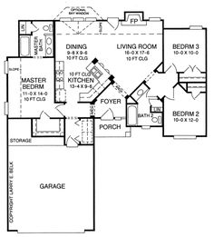The Sedgewick House Plans First Floor Plan - House Plans by Designs Direct.