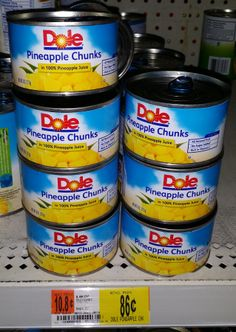Dole Pineapple Chuck