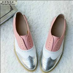 Cheap leather flat shoes women, Buy Quality flat shoes directly from China flat shoes women Suppliers: Genuine leather flat shoes women US size 13 handmade Color matching leather shoes vintage British style oxford shoes for women