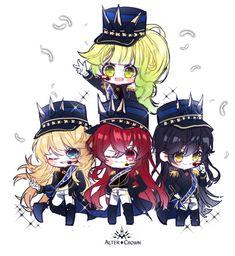 Fictional World, Fictional Characters, Anime Artwork, Anime Chibi, Anime Style, Me Me Me Anime, Knight, Elsword 2, Manga