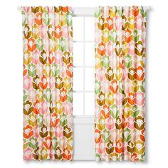 Orla Kiely Curtain Panel - Poppy Meadow