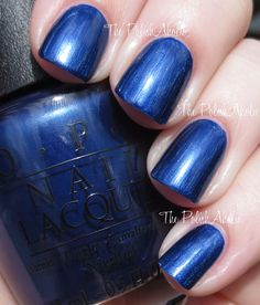 OPI MLB Collection Swatches - Right Off The Bat