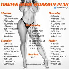 If you want to lose weight gain muscle or get fit check out our mens and womens workout plan for you Here are mini-challenges or workouts that can be done at home no equipment needed. Take these steps: Drink plenty of Water or infused water could just be the best beginning. Choose the time of day  #weightlosstips
