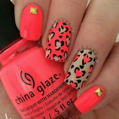 Hey there lovers of nail art! In this post we are going to share with you some Magnificent Nail Art Designs that are going to catch your eye and that you will want to copy for sure. Nail art is gaining more… Read Nails Opi, Hot Nails, Shellac, Simple Nail Art Designs, Best Nail Art Designs, Cute Nail Art, Easy Nail Art, Cheetah Nails, Pink Leopard