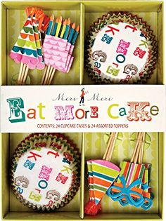 Meri Meri Cupcake Kits Eat More Cake * Find out more about the great product at the image link.