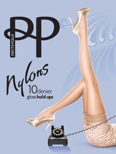Pretty Polly Nylons 10 Denier Hold Ups