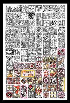 Zenbroidery Printed Fabric - Cubist 4001