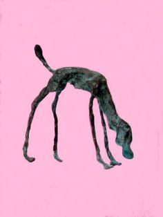 hond brons Animal Sculptures, Sculpture Art, Charcoal Portraits, Alberto Giacometti, Contemporary Sculpture, Wire Art, Stop Motion, Beautiful Paintings, Dog Art