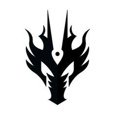 The Symbol pf Kamen rider Ryuga ^w^ from the kamen Rider Ryuki series, which is Kamen Rider Dragon Knight rite now in USA as Kamen Rider Onyx Kamen Rider Ryuga Logo Dragon Icon, Dragon Art, Logo Dragon, Dragon Shield, Dragon Knight, Dragon Rider, Symbol Design, Logo Design, Body Art Tattoos
