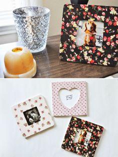MAKE: DIY Fabric Photo Frames