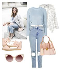 """""""Autumn into Spring"""" by oliviaa-maay ❤ liked on Polyvore featuring ASOS, New Look, Topshop, WithChic and Miu Miu"""