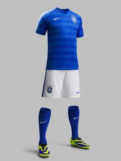 Brazil 2014-15 Nike Away