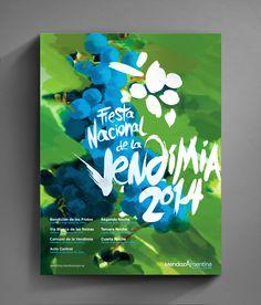 Vendimia 2014 by Leandro Vila, via Behance