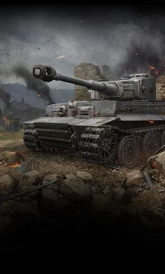 Tiger 1 at Dusk