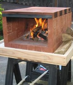 Four à pizza bois : Build a dry stack wood-fired pizza oven comfortably in one day! Dry Stack Wood Fired Pizza Oven Samples Sharing is caring, don't Portable Pizza Oven, Pizza Oven Outdoor, Outdoor Cooking, Outdoor Kitchens, Backyard Projects, Outdoor Projects, Diy Projects, Outdoor Decor, Outdoor Rooms